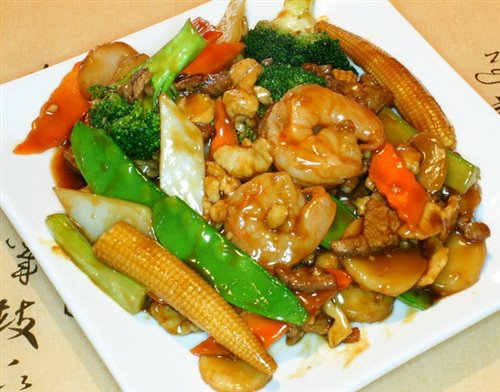 Shrimp W. Mixed Vegs
